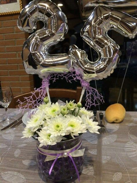fiori 25 anni matrimonio oltre 25 fantastiche idee su 25 anniversario di matrimonio