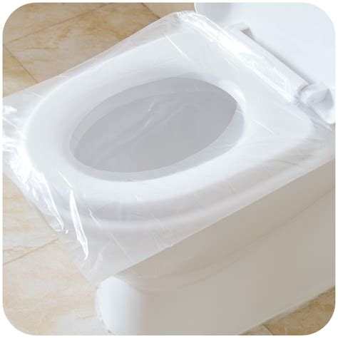 disposable toilet seat covers in store 50pcs 100pcs travel safety plastic disposable toilet seat