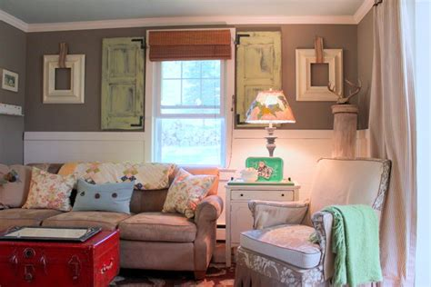 farmhouse style living room my houzz vintage farmhouse style shabby chic style