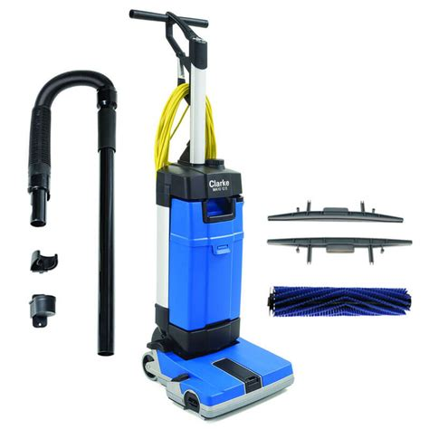 10 Gallon Floor Scrubber - ma10 12ec upright automatic floor scrubber w carpet tool