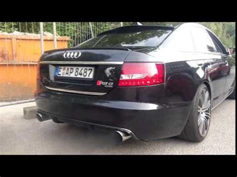 Audi A6 4f Auspuffblende by Audi A6 3 0 Tdi Sound Auspuff Exhaust Hdh Concepts