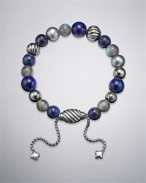 david yurman spiritual bead bracelet david yurman spiritual bead bracelet lapis in blue indigo
