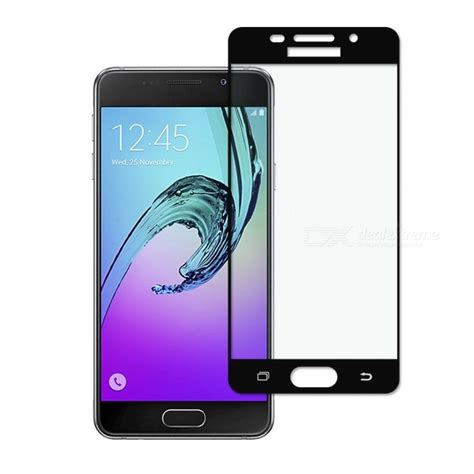 Glass Jete Samsung A310 2016 dayspirit tempered glass screen protector for samsung galaxy a3 2016 a310 black free