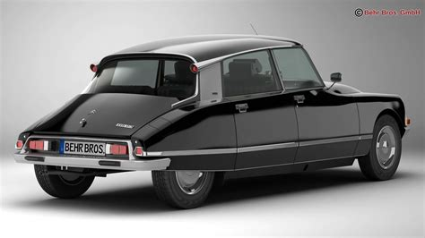 citroen ds citroen ds 23 pallas 3d model buy citroen ds 23 pallas