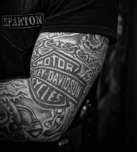 black and grey harley tattoos what is the difference between marketing sales and branding