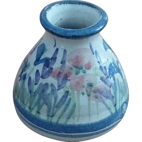 Earthenware Vase by Earthenware Honor Hussey Butley Pottery Vase From Rarefinds On Ruby