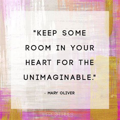 Keep Some Room In Your For The Unimaginable by Some Room In Your For The Unimaginable Oliver