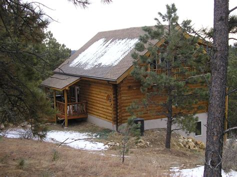 Custer Cabin Rentals by Custom Built Log Cabin Near Custer State Park Vrbo
