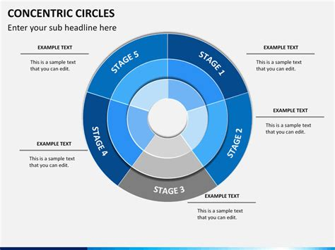Concentric Circles Powerpoint Sketchbubble Concentric Circle Diagram