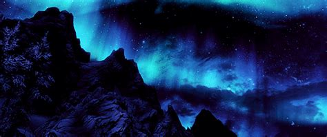 Moving Blue Moving Blue Mblue Polo lights landscape gif find on giphy