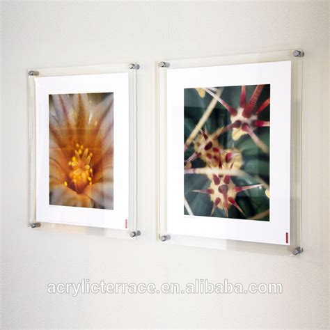Acrylic Poster wall mounted clear acrylic perspex photo frames buy acrylic poster kits acrylic wall mount