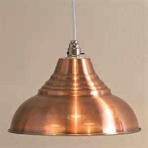Pendant Light Shades Vintage Metal Pendant Light Shade Antique Copper