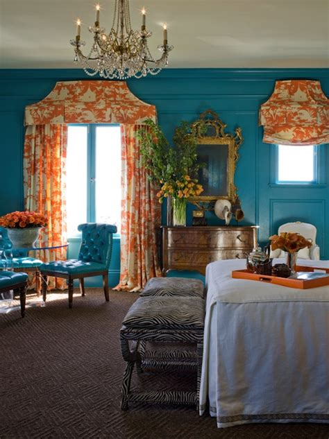 orange turquoise bedroom turquoise and orange bedroom eclectic bedroom