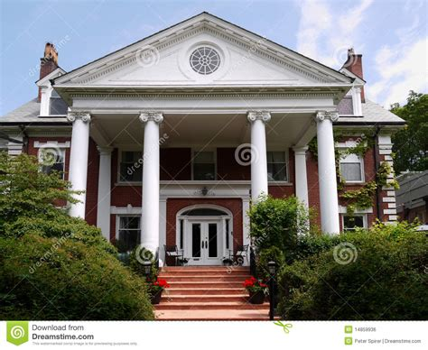 house with columns large house with columns stock photo image of wealthy