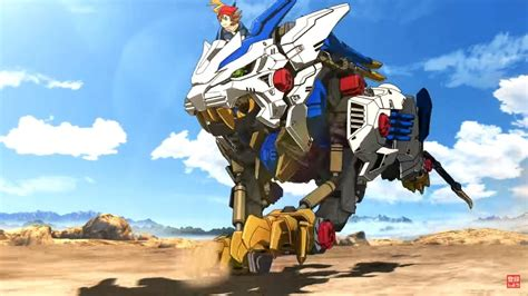 Kaos Anime Liger Zero zoids trailer don t call it a comeback zoids returns to the anime black
