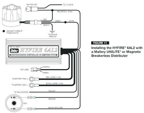 Mallory Hyfire Ignition Wiring Diagram Camizu Org