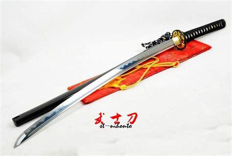 Handmade Battle Ready Swords - handmade japanese battle ready 9260 steel black
