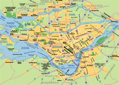 map canada montreal montreal map canada