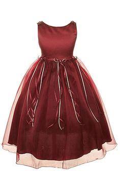 Dress christmas wedding burgundy wine 2 14 s 3 6 months burgundy