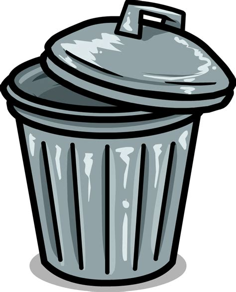 trash can picture of a trash can clipart best