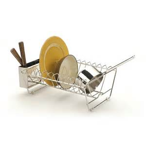 rsvp in sink stainless steel dish drying rack everything