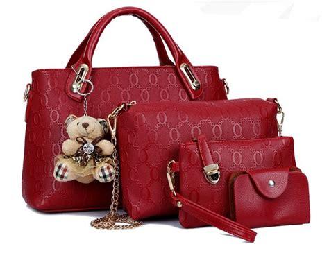Tas Import Fashion Korea Tf841 reve tas branded wanita bag korean style high quality 4in1 hitam lazada indonesia