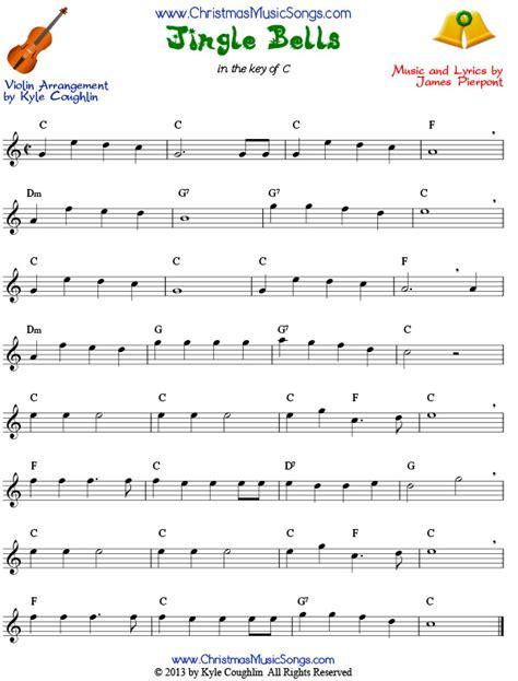 printable christmas violin sheet music free jingle bells for violin free sheet music