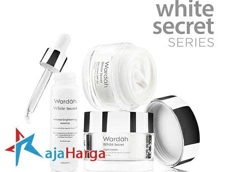 Serum Wardah White Series harga wardah white secret series bagus terbaru 2018