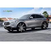 Infiniti FX37 Custom Wheels Lexani Johnson 2 26x95 ET