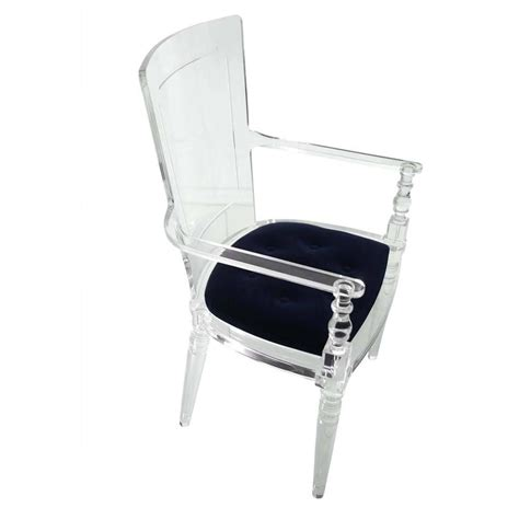 lucite armchair lucite dining armchair for sale at 1stdibs