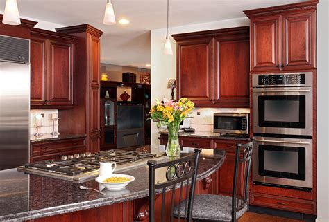 New Kitchen Cabinets Vs Refacing by Stacked And Stepped Crown Molding Cabinet Improvements