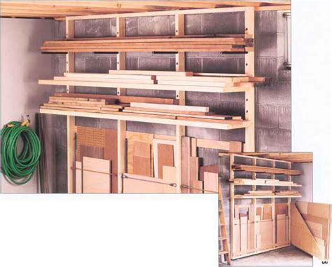 Lumber Rack Workbenches Woodworking Archive