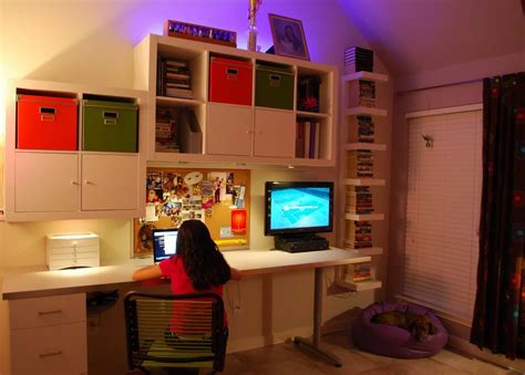ikea teenage bedroom cool teen bedroom workstation ikea hackers ikea hackers