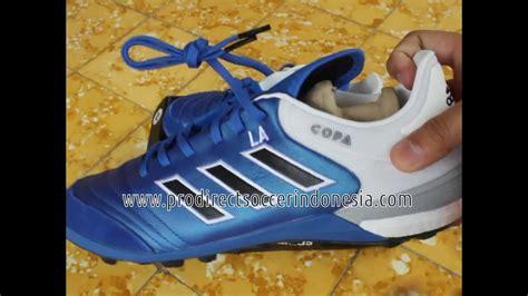 Sepatu Bola Adidas Copa Mundial Berkualitas sepatu futsal adidas copa 17 1 tf blue black bb2684 original