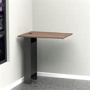 Corner Desk Extension Nexera Next Corner Desk Extension Black Walnut Walmart