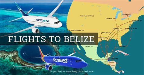 flights to belize infographic flight schedules