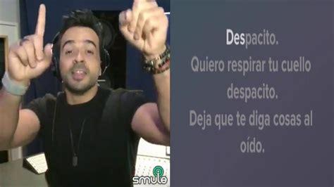 Despacito Smule | despacito luis fonsi karaoke duet sing karaoke by