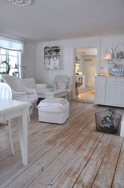 shabby chic floors the white wash floors seaside home of my dreams