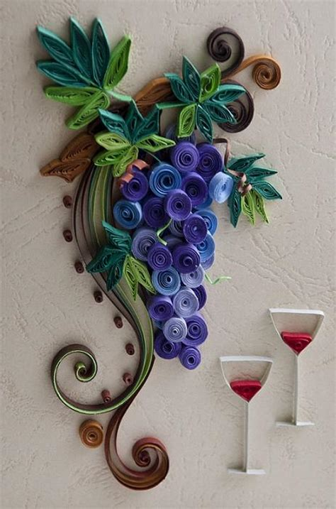 How To Make Paper Grapes - 1000 images about quilling on quilling