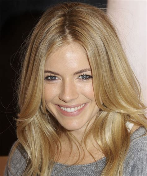 Does Sienna Miller Have A Hairy Face | sienna miller long straight casual hairstyle dark blonde