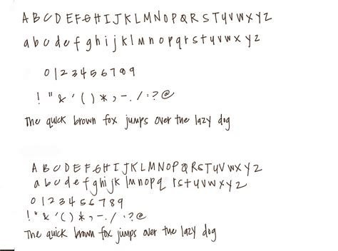 how to write in cool fonts on paper write out your alphabet on unlinedputer paper