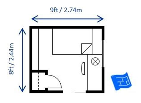9x10 bedroom layout here s 8 x 9ft 2 44 x 2 74m bedroom layout which fulfills