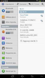 android reset default program impostazione apertura file come cambiare programma