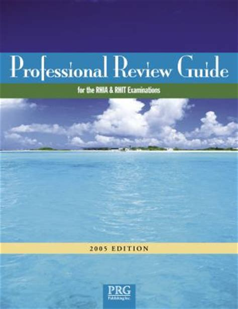 schnering s professional review guide for the rhia and rhit examinations 2018 2 terms 12 months printed access card books professional review guide for rhia rhit 2005 rent