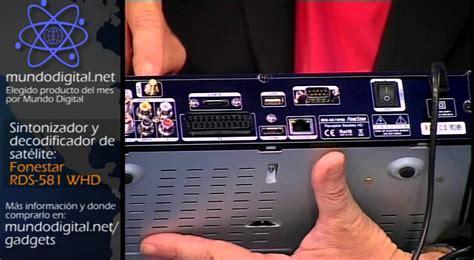 Digital Orange Tv fonestar rds 581 whd decodificador de nagra3