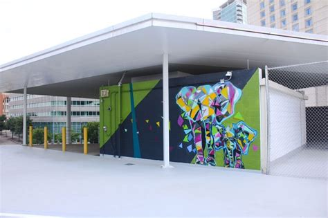 Victory Parking Garage by Dallas Gallery Is Found In A Most