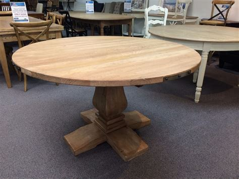 Solid Hardwood Dining Table Quot Montego Quot 135cm Hton Style Pedestal Solid Hardwood Timber Dining Table