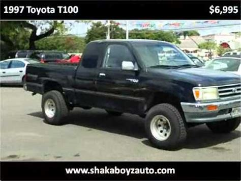 how things work cars 1997 toyota t100 xtra lane departure warning 1997 toyota t100 used cars pearl city hi youtube