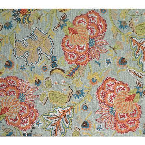 allen roth area rug shop allen roth lendale multicolor normal rectangular
