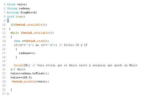 cadenas de numeros en c cadenas y arrays serial arduino parte ii panama hitek